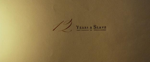 12 Years a Slave - générique
