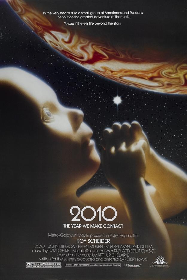 2010 l'année du premier contact - affiche