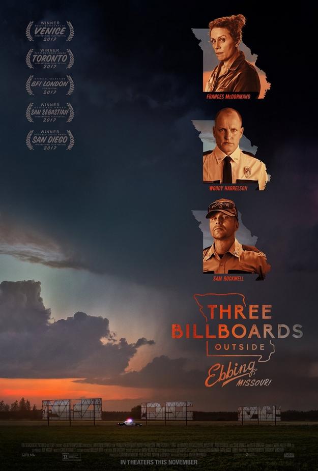 3 billboards - affiche
