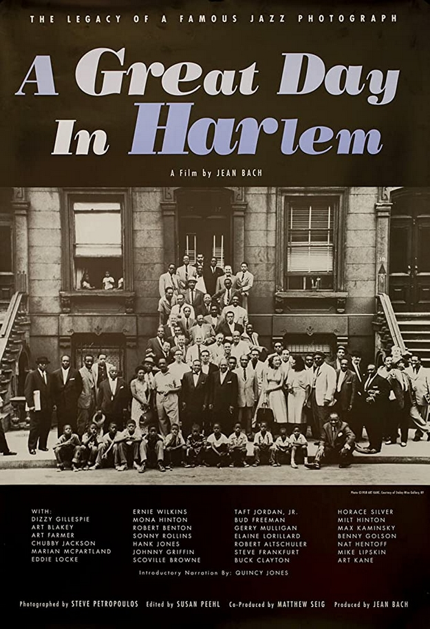 A Great Day in Harlem - affiche