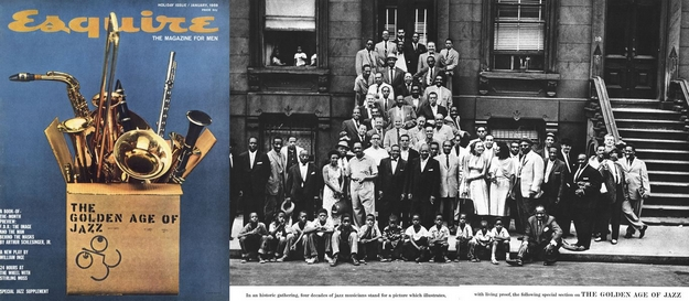 A Great Day in Harlem - Esquire de janvier 1959
