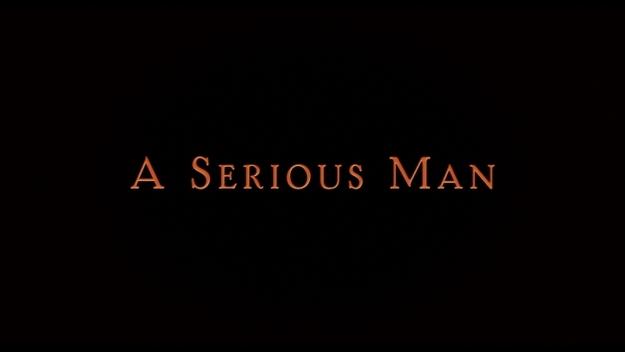 A Serious Man - générique