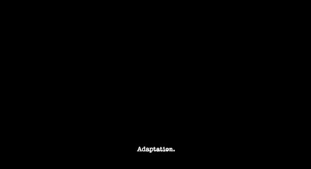 Adaptation - générique