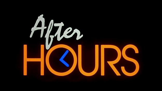 After Hours - générique