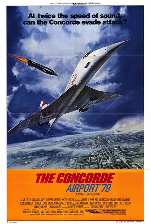 Airport 80 Concorde - affiche