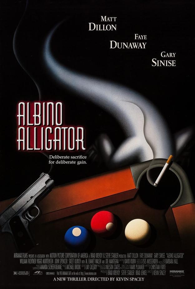 Albino Alligator - affiche