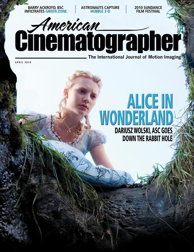 Alice au pays des merveilles - American Cinematographer