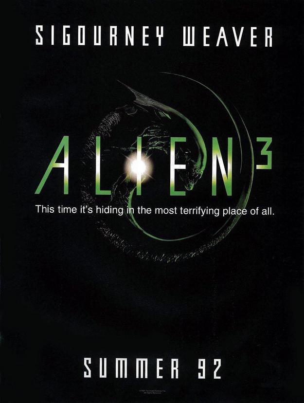 Alien 3 - affiche