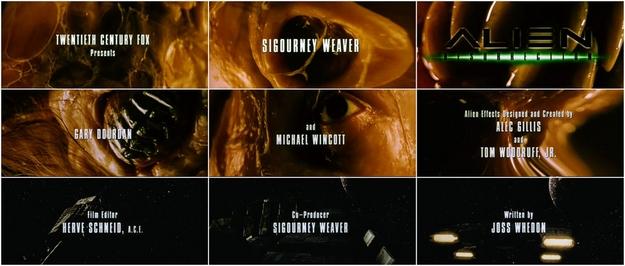 Alien la résurrection - générique