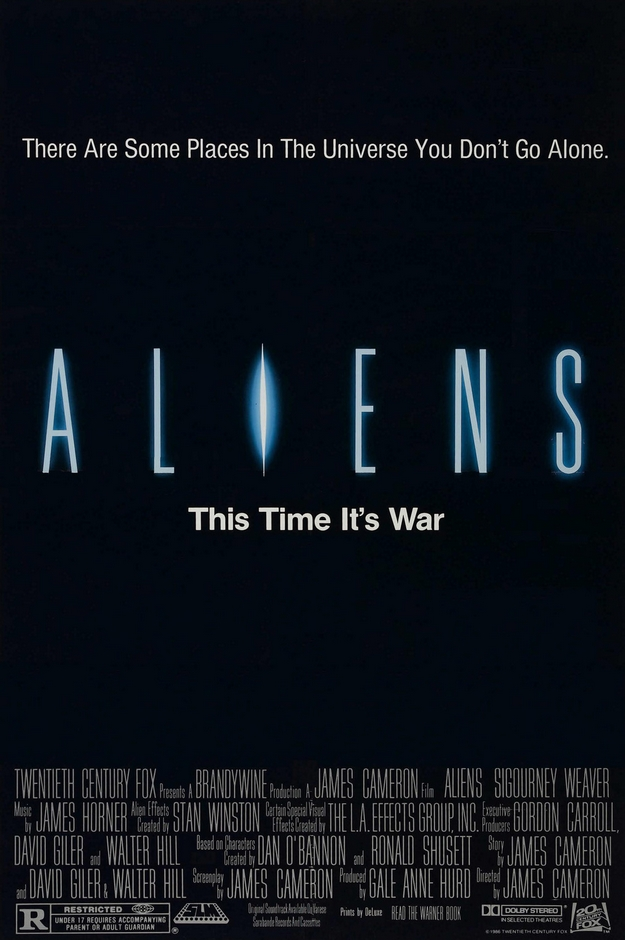 Aliens le retour - affiche