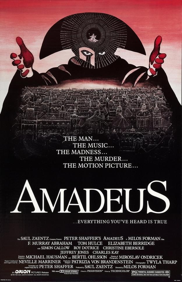 Amadeus - affiche
