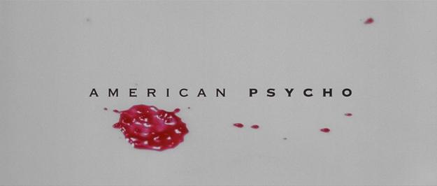 American Psycho - générique