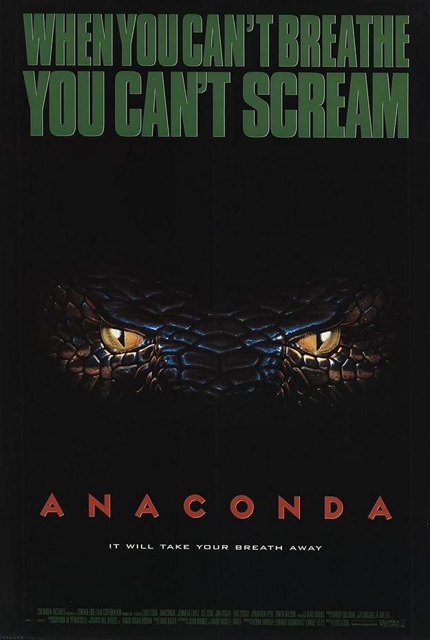 Anaconda le prédateur - affiche
