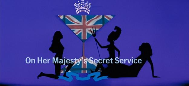 Au service secret de Sa Majesté - générique