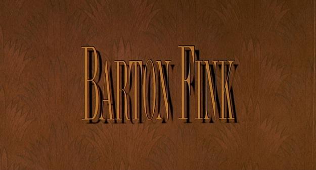 Barton Fink - générique