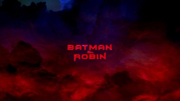 Batman et Robin - générique
