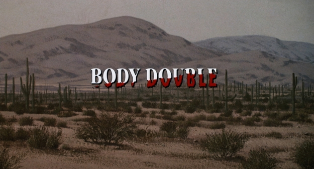 Body Double - générique