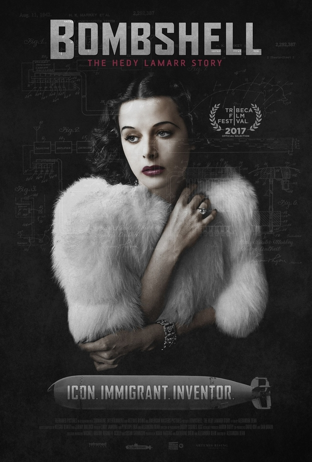Bombshell The Hedy Lamarr Story - affiche