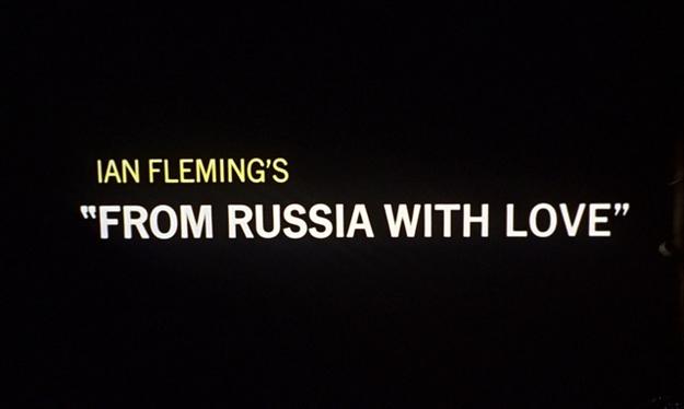 Bons baisers de Russie - générique