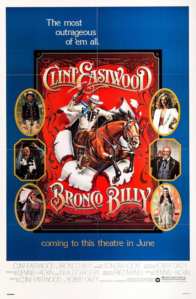 Bronco Billy - affiche