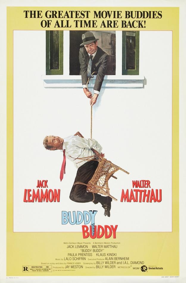 Buddy Buddy - affiche