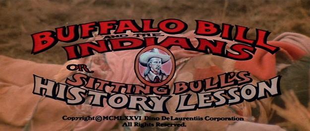 Buffalo Bill et les Indiens - générique
