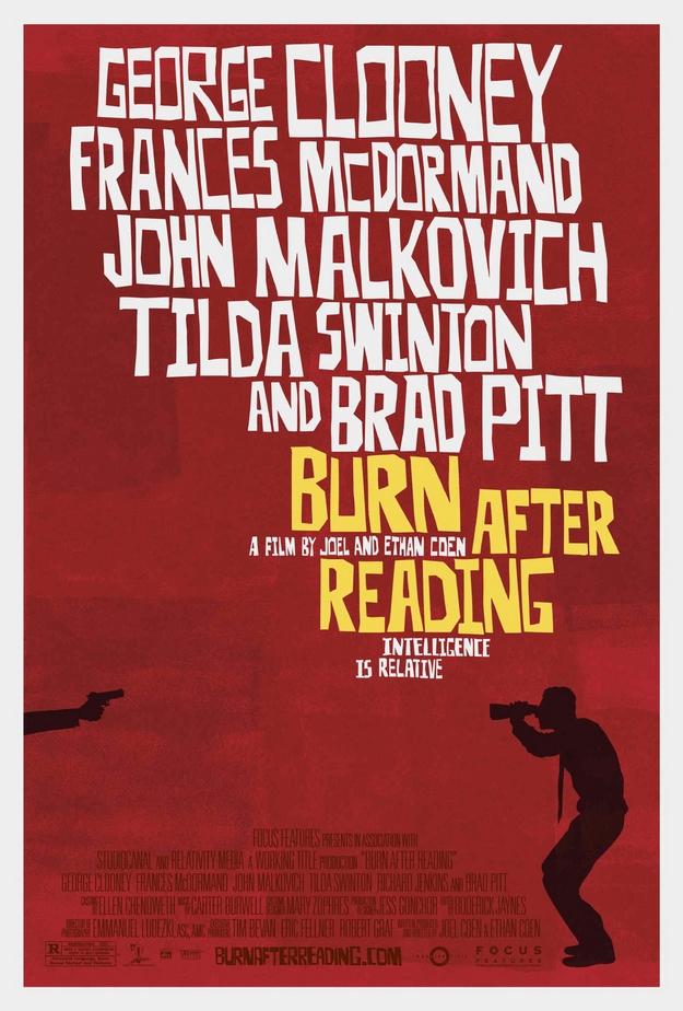 Burn After Reading - affiche