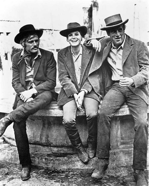 Butch Cassidy et le Kid - photo de tournage