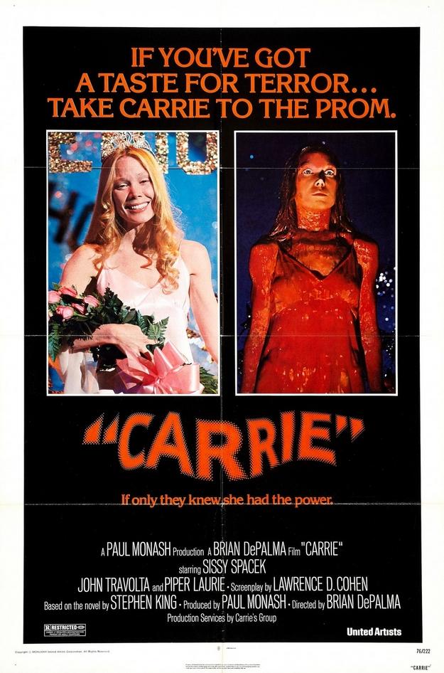 Carrie au bal du diable - affiche