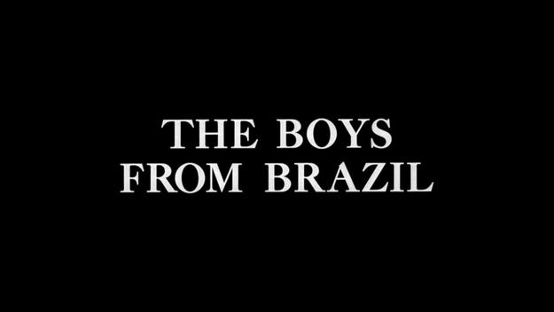 Ces garçons qui venaient du Brésil - générique