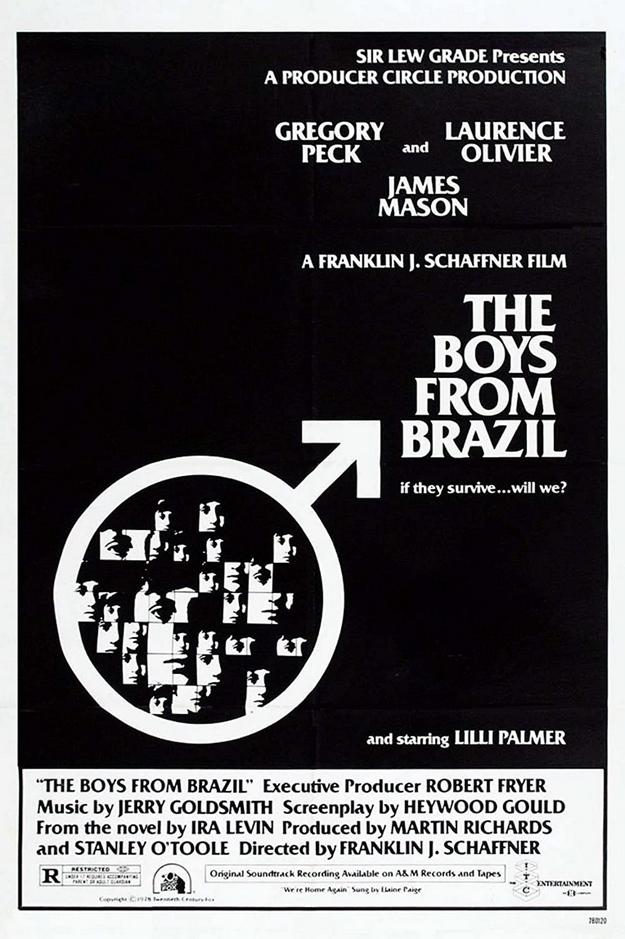 Ces garçons qui venaient du Brésil - affiche