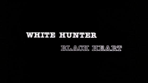 Chasseur blanc cœur noir - générique