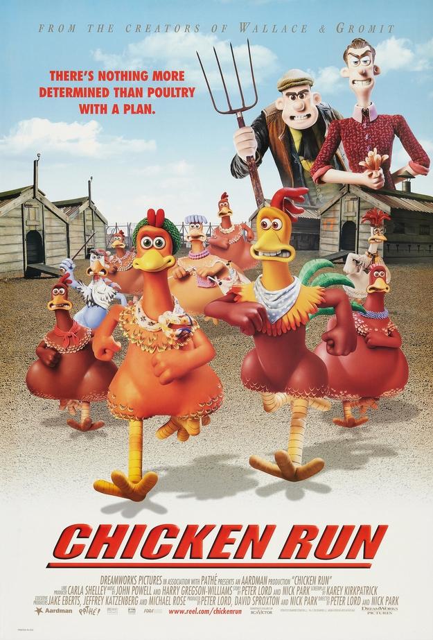 Chicken Run - affiche