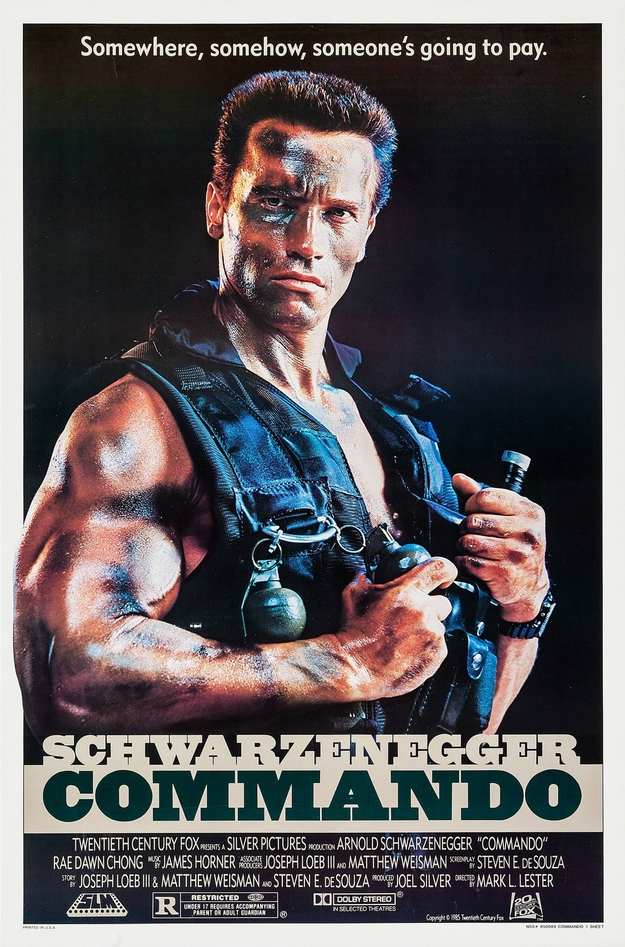 Commando - affiche