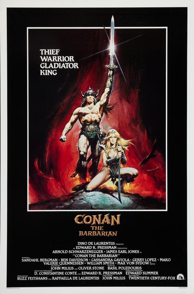 Conan le barbare - affiche