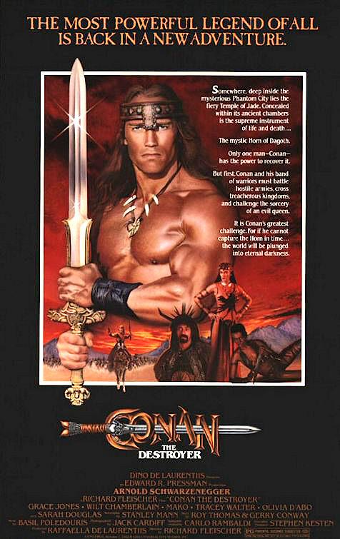 Conan le destructeur - affiche