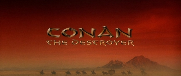 Conan le destructeur - générique