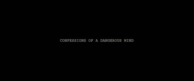 Confessions d'un homme dangereux - générique