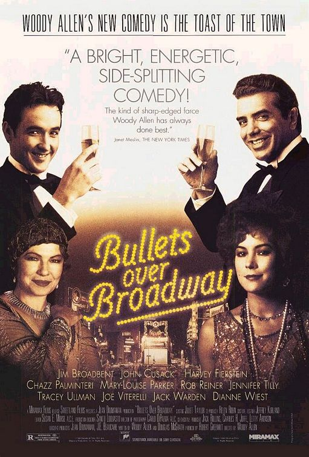 Coups de feu sur Broadway - affiche