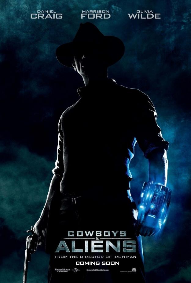 Cowboys et Envahisseurs - affiche
