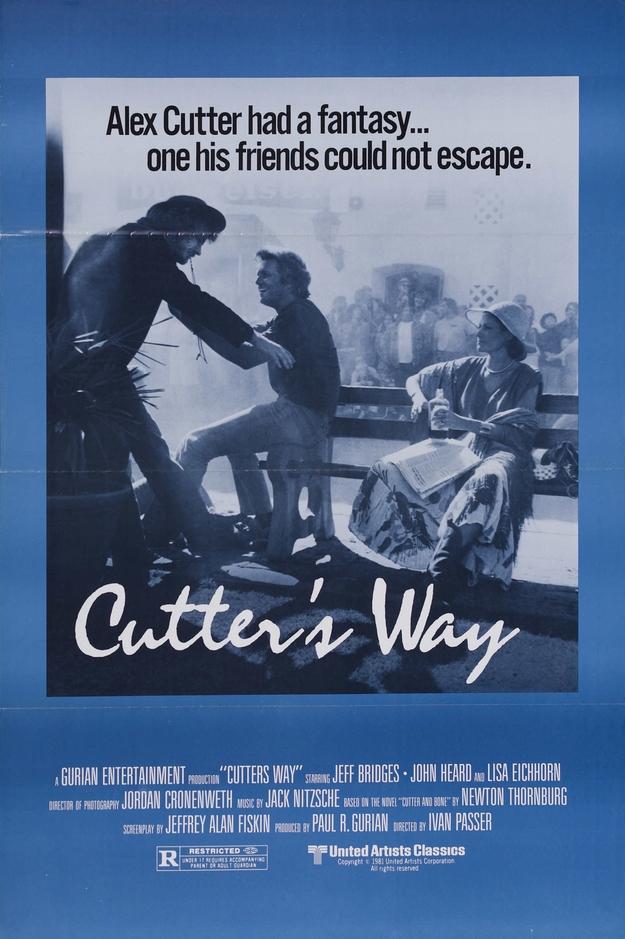 Cutter's Way - affiche