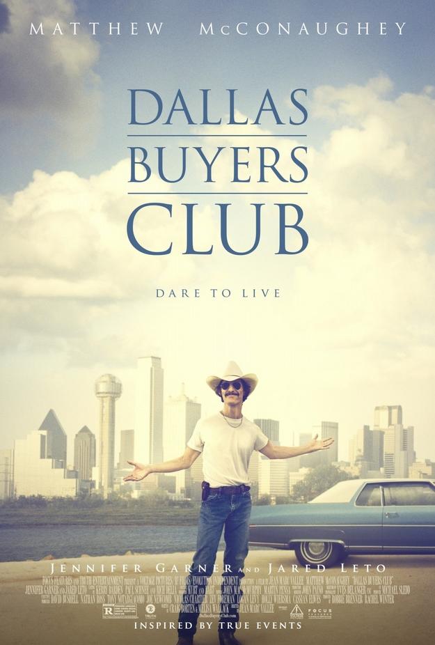Dallas Buyers Club - affiche