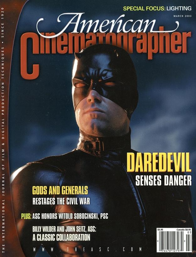 Daredevil - American Cinematographer