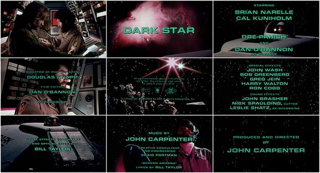 Dark Star - générique