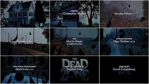 Dead Zone - générique