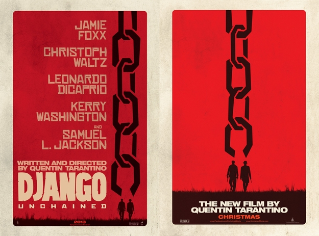 Django Unchained - affiches