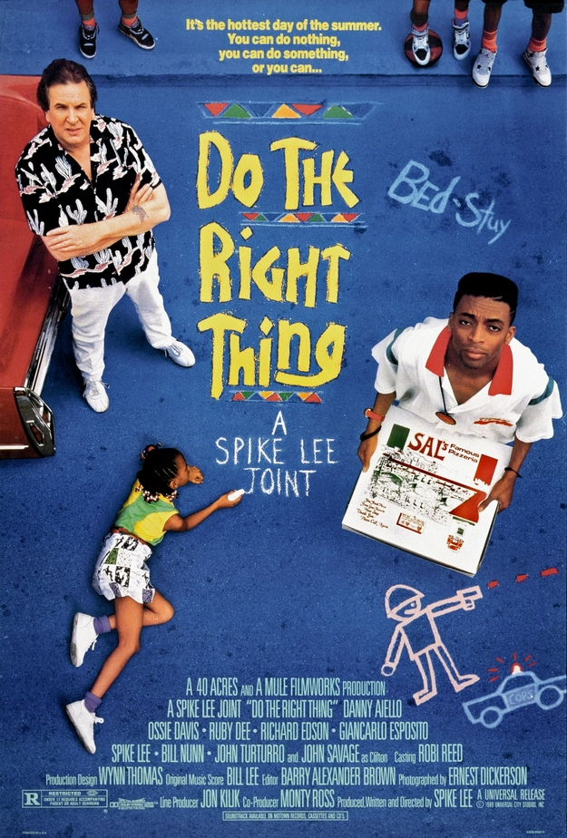 Do the Right Thing - affiche