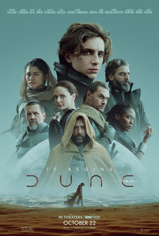 Dune 2021 - affiche