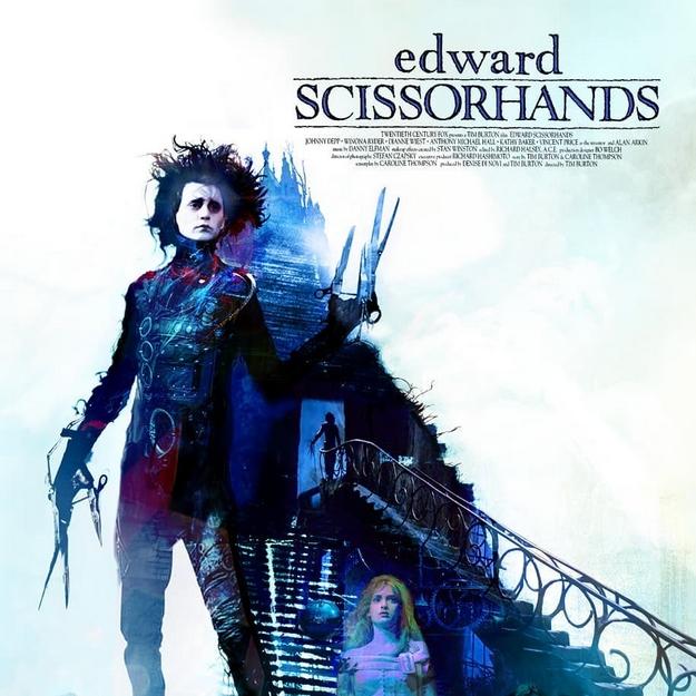Edward aux mains d'argent - Christopher Shy