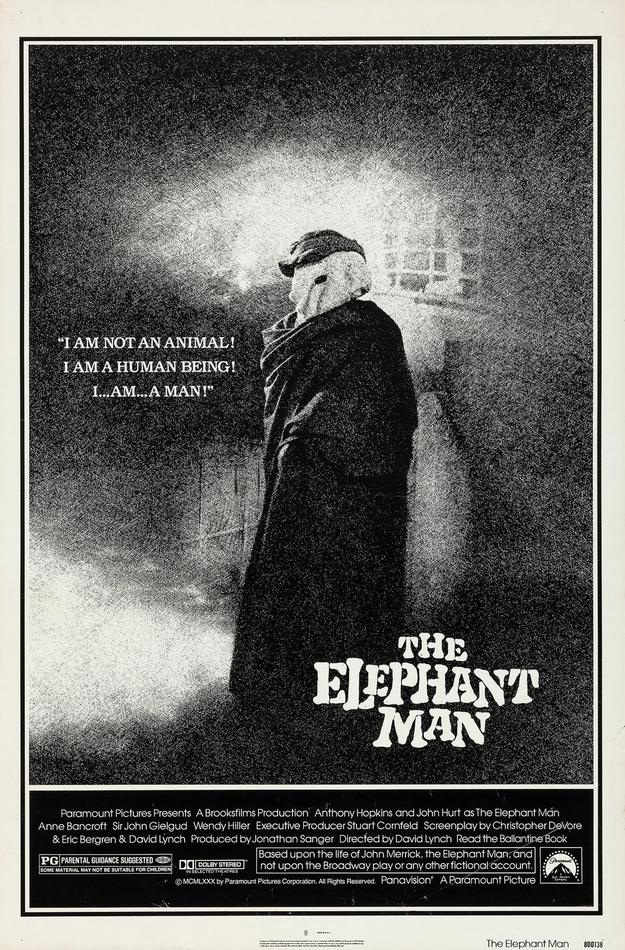 Elephant Man - affiche